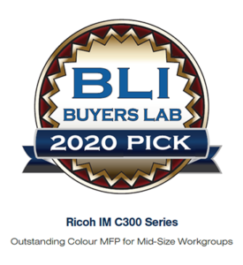 Ricoh Buyers Lab award for A4 colour intelligent MFP_3_tcm91-37525